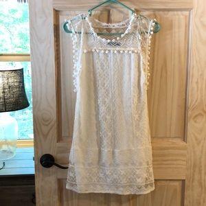NWOT Lace Mini Dress